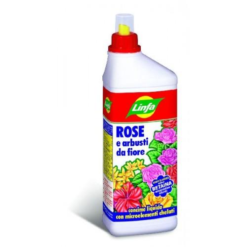 Concime Liquido Rose e Arbusti da fiore