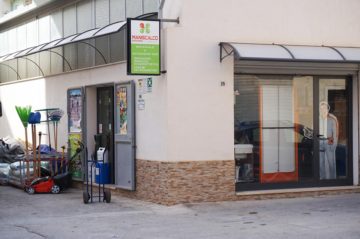 Maniscalco Giovanni Irrigazioni - Punto Vendita